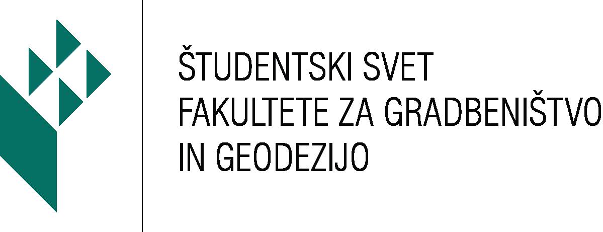 Študentski svet UL FGG logo