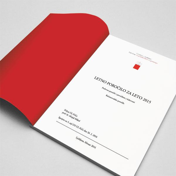 Letno poročilo UL FGG
