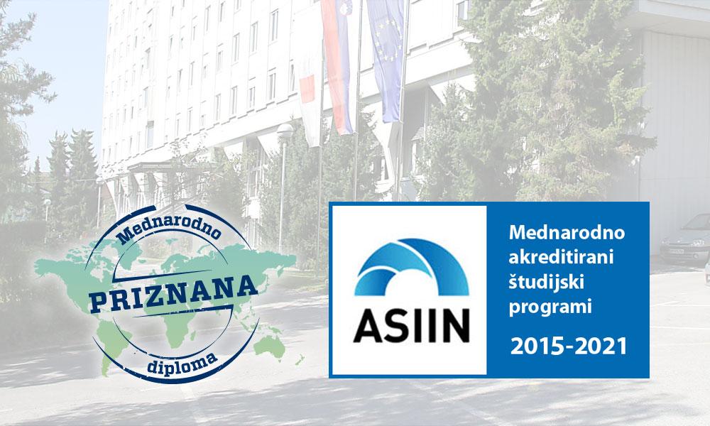 ASIIN podaljšala akreditacijo študijskim programom UL FGG