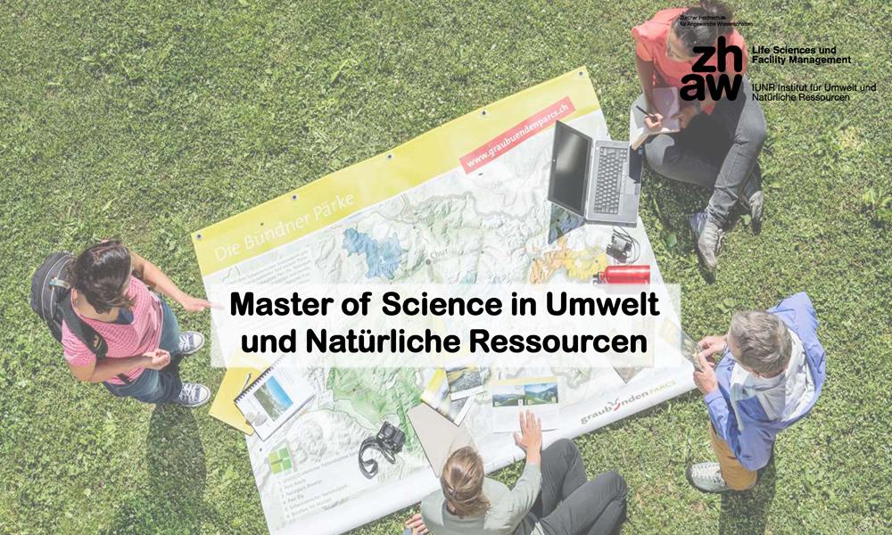 Skupni magistrski študij Vodarstva in okoljskega inženirstva UL FGG in Zürich University of Applied Sciences (ZHAW)
