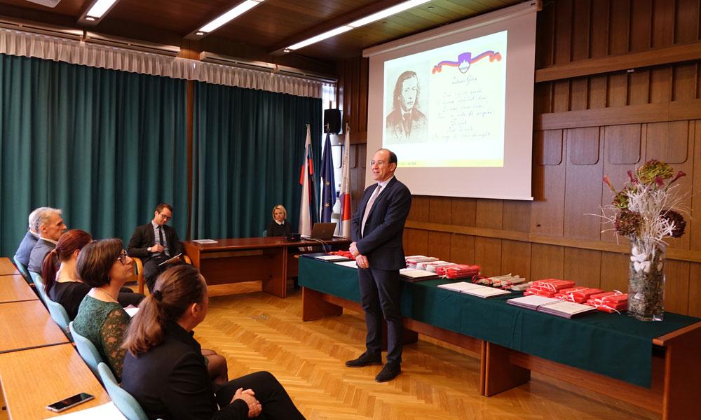 Podelitev Prešernovih nagrad na UL FGG 2018