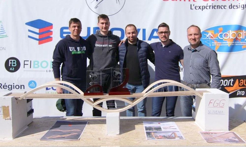 Izjemen uspeh naših študentov na mednarodnem  tekmovanju v Franciji