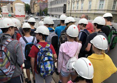 Obisk gradbišča Šumi