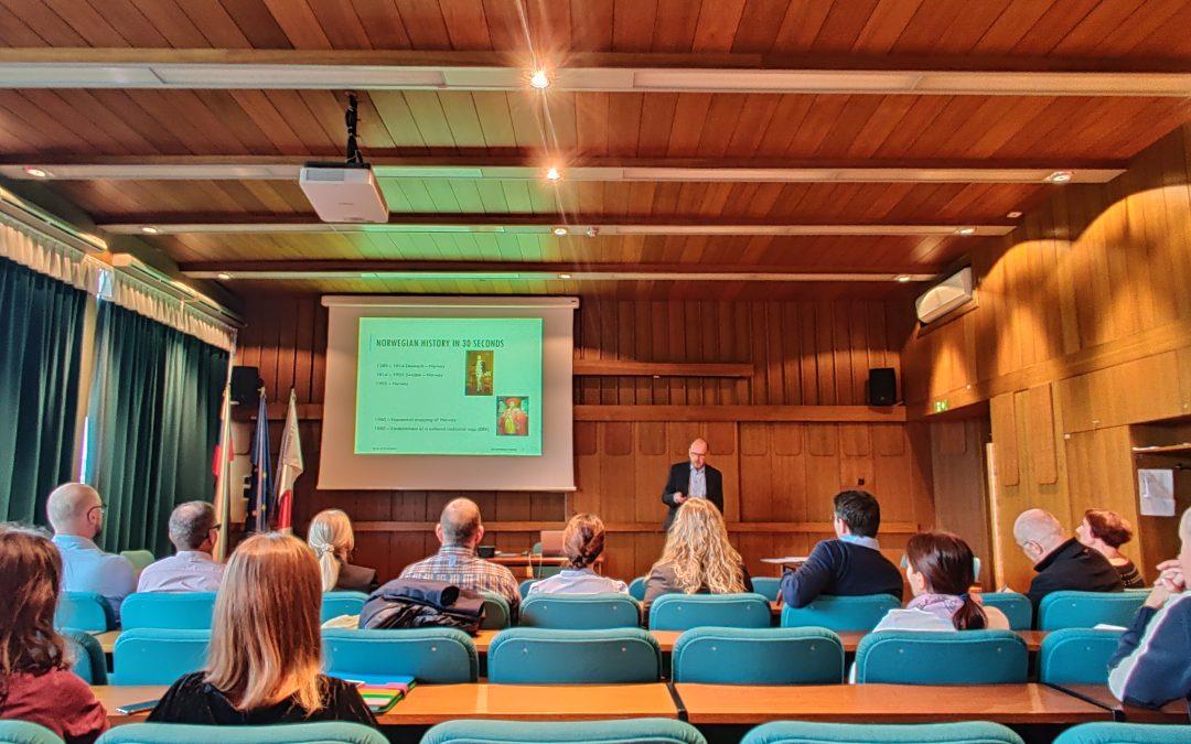Obisk strokovnjakov z Norveškega Jordskifterett