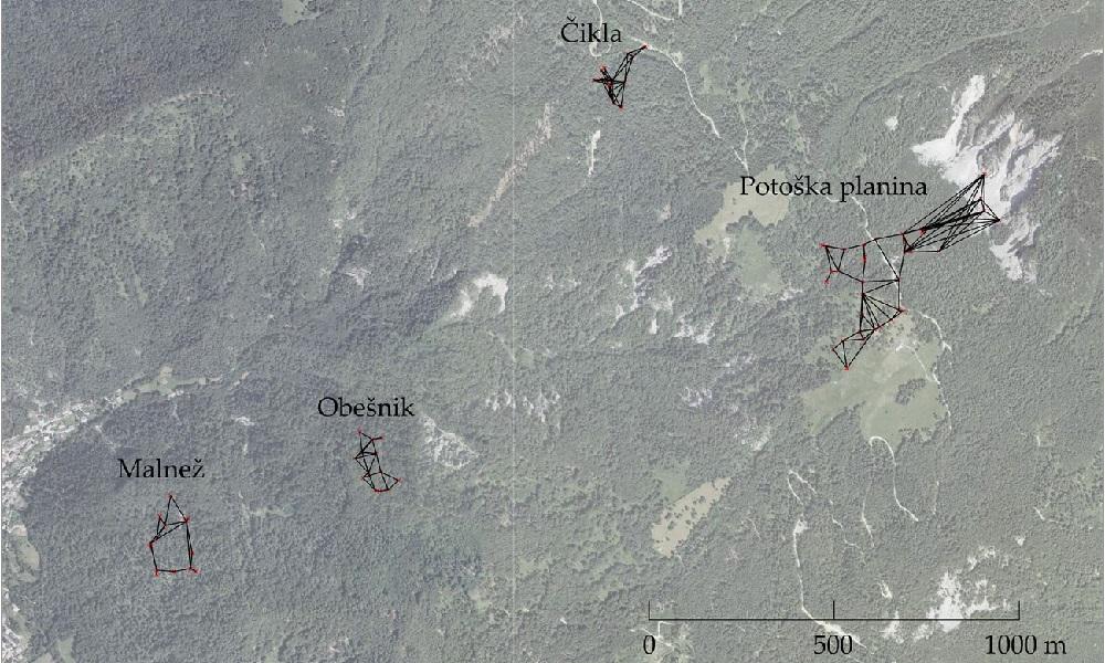 Ocenjevanje ogroženosti plazovitega območja Koroške Bele