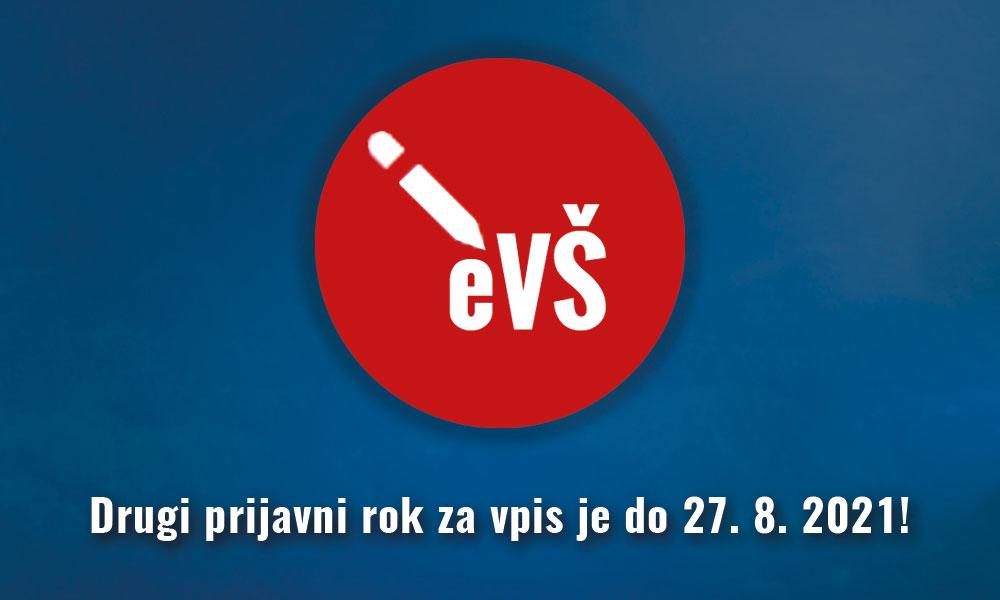 2. prijavni rok za prvostopenjske študijske programe bo od 20. 8. do 27. 8. 2021